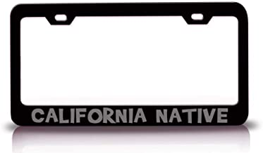 Best california native license plate Reviews