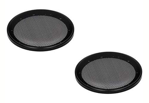 Audioproject A317 - luidsprekerrooster voor 165mm DIN luidspreker kunststof ring met metalen rooster zwart