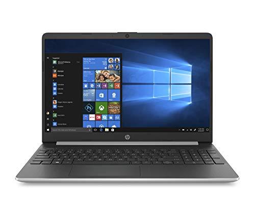 "HP 15s-fq1022ns -Ordenador Portátil 15.6"" HD (InteL Core i7-1065G7, 8GB RAM, 256GB SSD, Intel Iris Graphics, Windows 10), Color Plata - Teclado QWERTY Español"