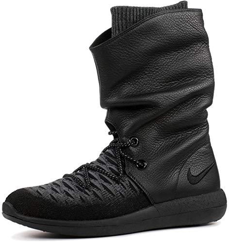 Nike Roshe Two Flyknit Hi 861708-001 Damenschuh schwarz, 38.5 EU