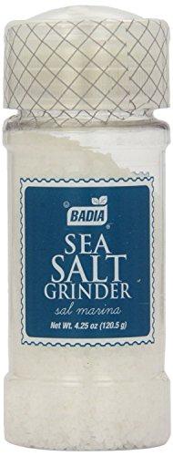 Badia Sea Salt Grinder 4.25 OZ(Pack of 12)