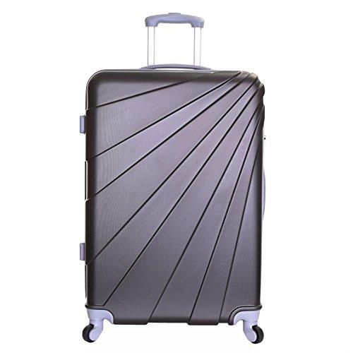 Slimbridge Valise Rigide Grande Taille XL Bagage 76 cm 4,5 kg 100 Litre 4 roulettes, Fusion Graphite