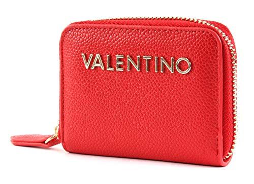 VALENTINO BY MARIO VALENTINO Zip Coin Damen Geldbörse Rot