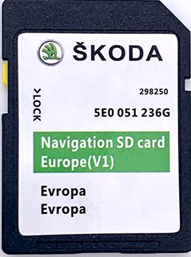 Skoda MIB1 Amundsen SD-Karte Navi Update 2020