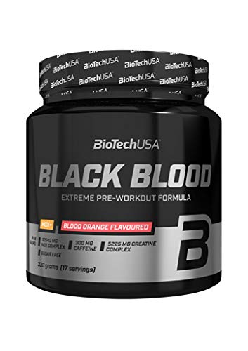 Biotech USA Black Blood NOX+, 330g Dose , Blueberry-Lime
