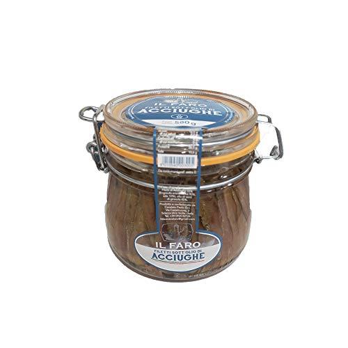 Filetti di Acciughe 580g Alta Qualità Sott'olio Sciacca