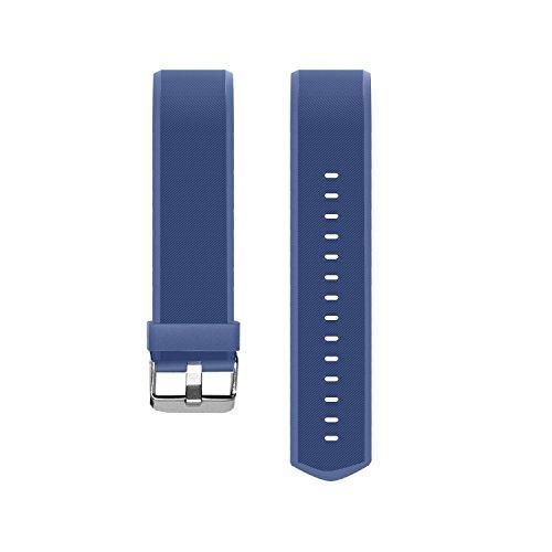 Vigorun Fitness Tracker Straps Ersatz Armbänder YG3 Plus HR Activity Tracker (Blau)