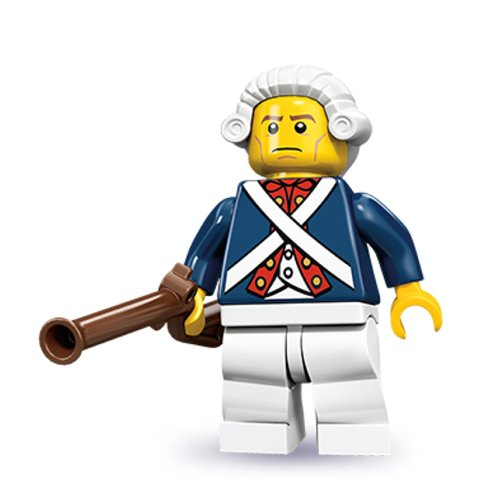 LEGO Series 10 Minifigure Revolutionary Soldier (71001) by LEGO