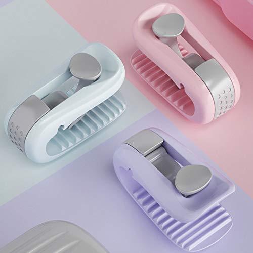 UBVV Quilt Clip Halter,Quilt Fixer Bettdeckenbezug-Clips, Anti-Rutsch-Klemme ohne Nadel,hält die Ecken der Bettdecken an Ort und Stelle (Grün)