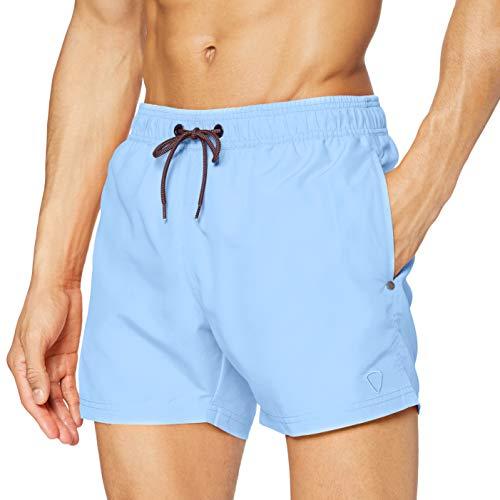 Strellson Bodywear Herren Swim Shorts, Blau (Aqua 520), Small