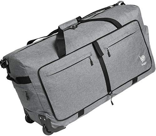 Bago Wheeled Duffle Bag Luggage - 100L Large Rolling Duffel Bag 30...