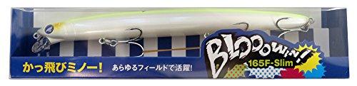 Blue Blue(ブルーブルー) ミノー ブローウィン 165F スリム 165mm 24g チャートバックパール #03 ルアー