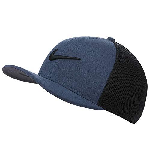 NIKE AeroBill Classic99 Mesh Golf Cap 2019 Obsidian Heather/Black One Size Fits All