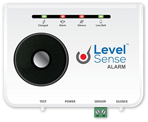 Level Sense Sump Pump Failure Alarm w/Self Recharging Battery