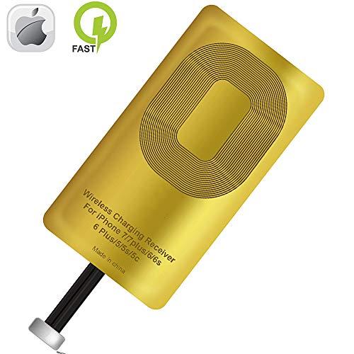 Qi Receiver wirless Charging reciever for iPhone 5-5c- Se- 6-6 Plus- 7-7 Plus- iPhone