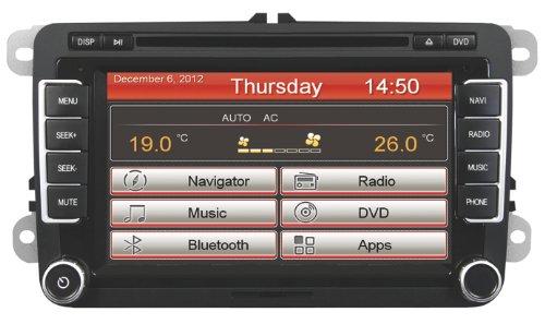 ESX Naviceiver VN710 VW-U1 mit Bluetooth und iGo Navigation