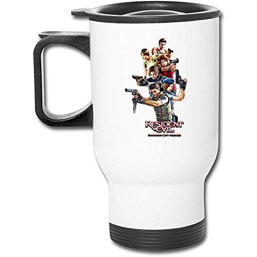 Mike-Shop Auto-Schale Einfache weiße Resident Evil One Size Funny Mugs