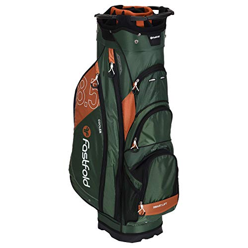FASTFOLD Golf-Trolley Unisex Cart Bag – Olivgrün