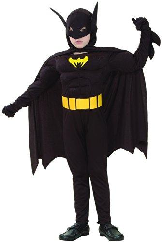 Generique - Déguisement Super héros Chauve-Souris garçon L 10-12 Ans (130-140 cm)