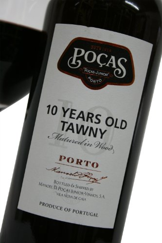 Vinho Porto Português Poças Tawny 10 anos 750ml