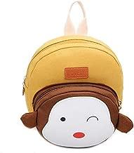 حقيبة ظهر للأطفال الصغار، حقائب مدرسية صغيرة كرتونية لطيفة على شكل حيوانات من القطيفة للأطفال