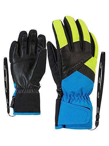 Ziener Jungen LOX AS AW glove junior Ski-handschuhe / Wintersport | wasserdicht, atmungsaktiv