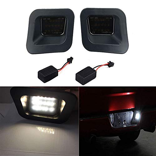 Yijueled LED License Plate Light for Ram 1500 2500 3500