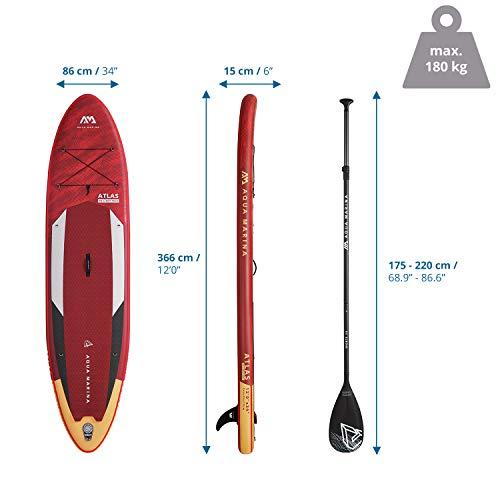 "AM AQUA MARINA Stand Up Paddle Board 12"" - 5"
