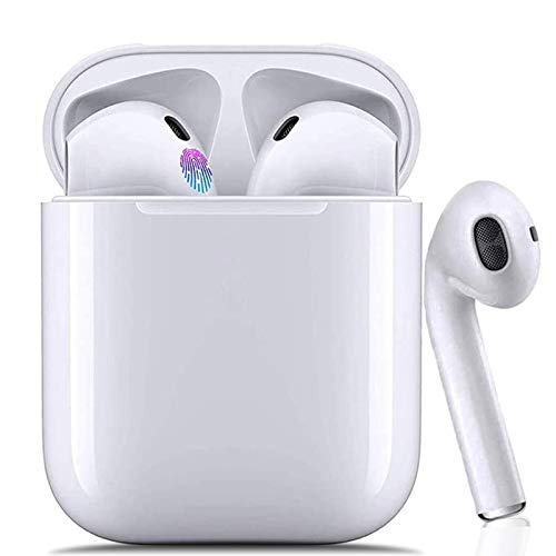 Bluetooth Kopfhörer,In-Ear Kabellose Kopfhörer,Bluetooth Headset,Sport-3D-Stereo-Kopfhörer,mit 24H Ladekästchen und Integriertem Mikrofon Auto-Pairing für Samsung/Huawei/iPhone/Airpod/Android/Apple