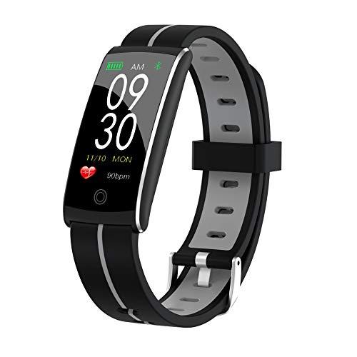 YANGPANGZI Pulsera Inteligente frecuencia cardíaca presión Arterial oxígeno en Sangre monitoreo del sueño podómetro Deportivo Pulsera de Paso cámara Inteligente Bluetooth a Prueba de Agua