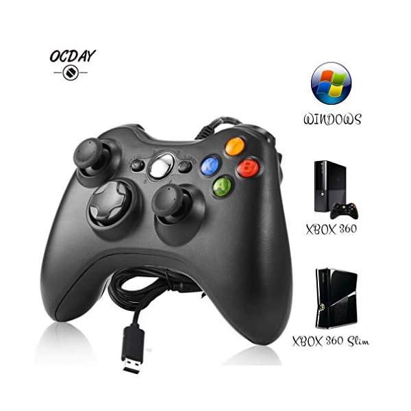 Manette-Xbox-360-Manette-Xbox-PC-Joystick-pour-Xbox-360-et-Windows-7810-Connection-USB-Design-Ergonomique-Double-Vibration-Idal-pour-vos-sessions-de-jeux-sur-Xbox-et-PC
