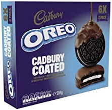 Cadbury Dairy Milk Chocolate Covered Oreo Cookies 204 g, 204 g