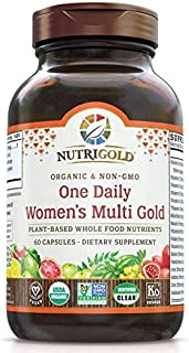 NutriGold One Daily Womens Multi Gold, 60 capsules