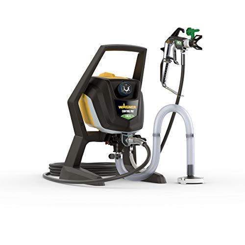 WAGNER Airless Farbsprühsystem Control Pro 250 R für Wandfarben, Lacke, Lasuren, Holz- und Korrosionsschutz, 15 m²-2 min, Druckregulierung, 110 bar, Schlauch 9 m