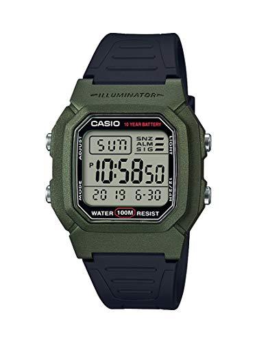 Orologio da polso Casio digitale al quarzo quartz nuovo originale W-800HM-3A