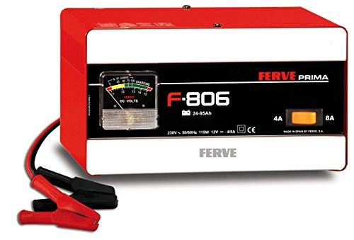 FERVE F-806 Cargador de Baterías de Plomo Acido