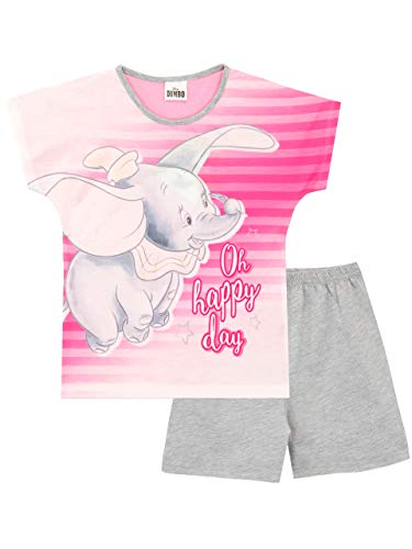 Disney Mädchen Dumbo Schlafanzug Mehrfarbig 116