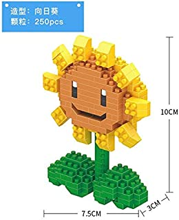 Nanoblocks No Compatible Ed Plants Vs.Zombies Decoratio PVZ Game Model Building Mini Micro Blocks Diamond Sets Kids Toys Kit Must Haves for Kids 8 Year Old Girl Gifts The Favourite Anime