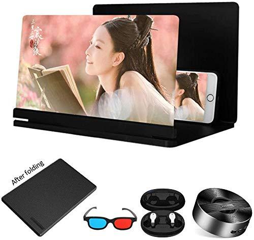 Lupa de Pantalla de teléfono 3D Zoom HD Luz Anti-Azul Protege los Ojos Amplificador de Pantalla ampliada para teléfonos móviles Tabletas Consolas de Juegos, etc. 26in D-16 Pulgadas Excellent