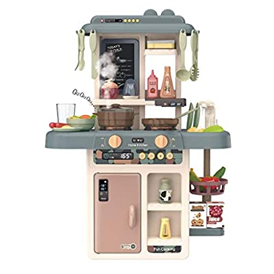Kids Kitchen Playset,Mini Cooking Food Toys, Ki...