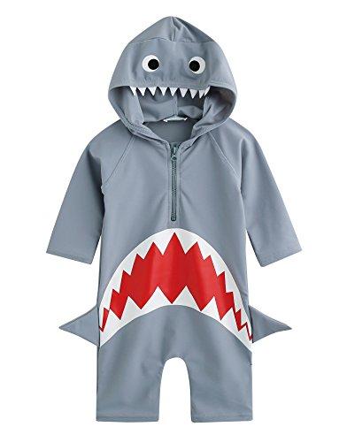 vaenait Baby 56–80 Maillot de bain Infant bébé garçon Rashguard Swimwear Real Jaws bébé Large Nur Bademode