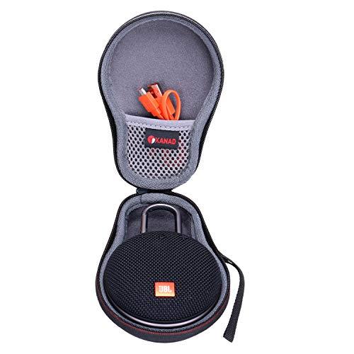 XANAD Hart Reise Tragen Tasche für JBL Clip 3 or JBL Clip 2 or JBL Clip Plus or JBL Clip Ultra Wasserdichter Tragbarer Wiederaufladbarer Lautsprecher - Schutz Hülle