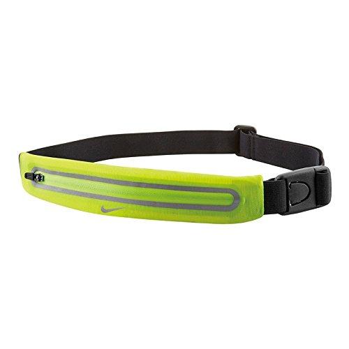 Nike Erwachsene Lean Hüfttasche, Volt/Black, 25 x 6 cm
