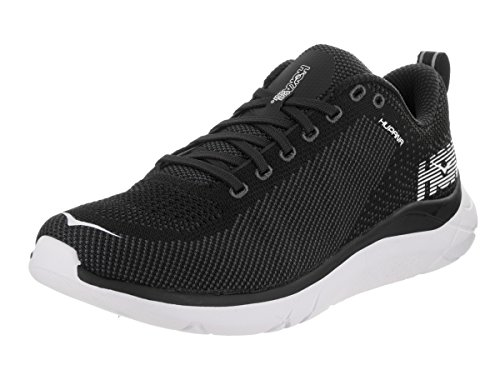 HOKA ONE ONE Mens Hupana Black/Dark Shadow Running Shoe - 8.5