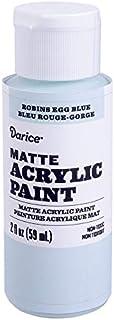 Darice DPCS170-63 Matte Robin Egg Blue, 2 Ounces Acrylic Paint
