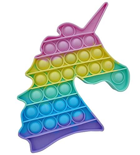Pop It Fidget Toys,Push Pop Bubble Fidget Sensory Toy,Autism Special Needs Silicone Stress Relief Toy,Great Fidget Toy Sensory Toys Novelty Gifts... 2