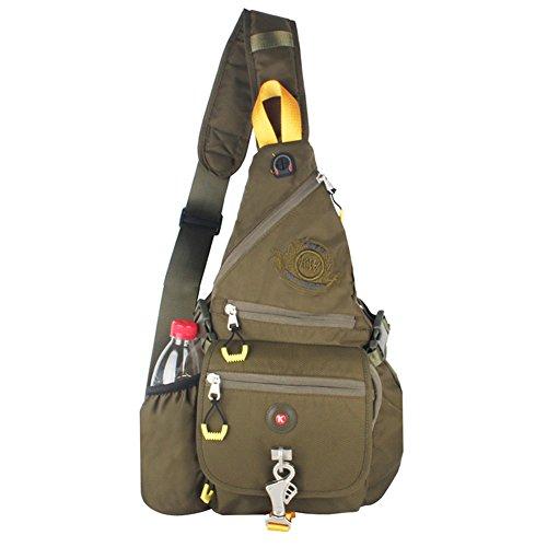 Innturt Leinen-Rucksack Größe L B-Green