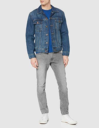 Wrangler Classic Denim Jacket Chaqueta de Mezclilla, Azul (Mid Stone 14v), X-Large para Hombre