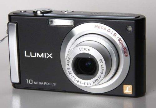 Panasonic Lumix DMC-FS3 schwarz +SD-HC 4GB+Tasche+2.Akku+DS+Unterwassertasche
