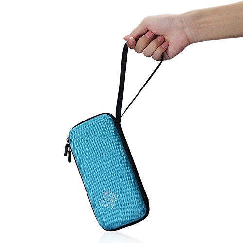 MASiKEN Hard EVA Carrying Case for Texas Instruments TI-84 Plus/TI-83 Plus CE Graphing Calculator, More Space for Pen and Accessory (Blue) Photo #2